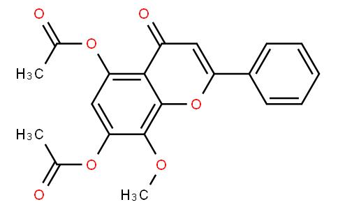 5,7-Diacetoxy-8-methoxyflavone