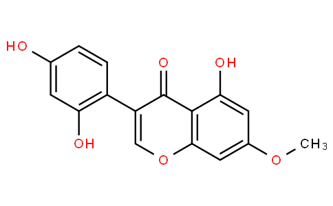 3-(2,4-Dihydroxyphenyl)-5-hydroxy-7-methoxy-4H-1-benzopyran-4-one
