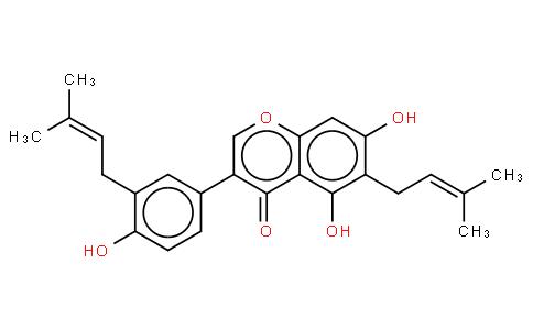 3',6-Di(dimethylallyl)genistein