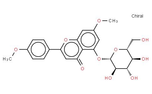 5-Hydroxy-4',7-dimethoxyflavone 5-O-beta-D-glucopyraside