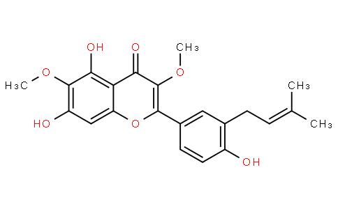 5,7,4'-Trihydroxy-3,6-diMethoxy-3'-prenylflavone