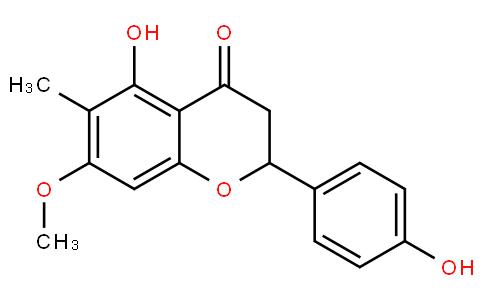5,4'-Dihydroxy-6-methyl-7-methoxyflavanone