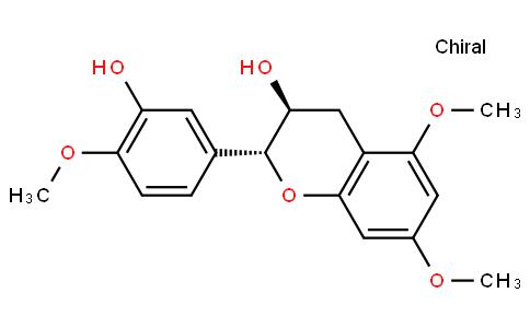 (2R,3S)-3,4-Dihydro-2-(3-hydroxy-4-methoxyphenyl)-5,7-dimethoxy-2H-1-benzopyran-3-ol