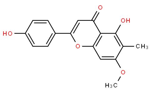5-Hydroxy-2-(4-hydroxyphenyl)-7-methoxy-6-methyl-4H-1-benzopyran-4-one