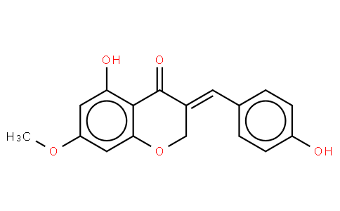 5-Hydroxy-3-(4-hydroxybenzylidene)-7-methoxy-4-chromane