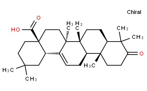 3-Oxo-olean-12-en-28-oic acid