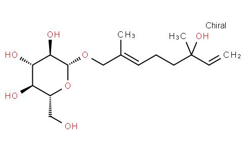 (6E)-3,7-Dimethyl-8-(β-D-glucopyranosyloxy)-1,6-octadiene-3-ol