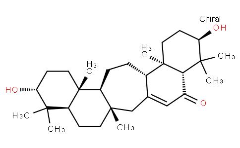 3α,21β-Dihydroxy-C(14a)-homo-27-norgammaceran-14-en-16-one