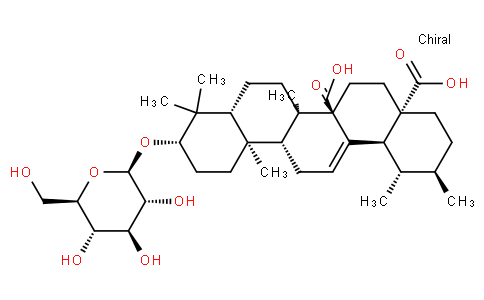 Quivic acid 3-O-beta-D-glucoside