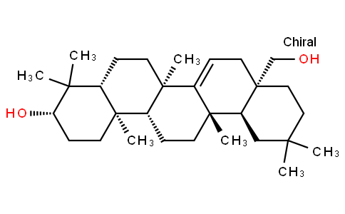 D-Friedoolean-14-ene-3β,28-diol