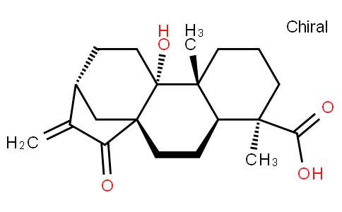 15-Oxo-9-hydroxykaur-16-en-18-oic acid