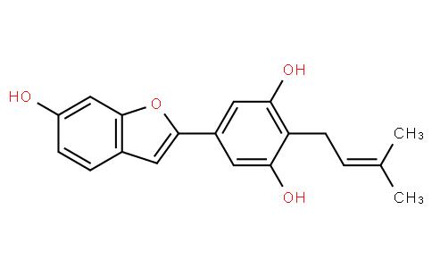 5-(6-Hydroxybenzofuran-2-yl)-2-(3-methyl-2-butenyl)-1,3-benzenediol