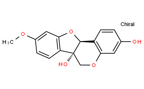 (6aS-cis)-9-Methoxy-6H-benzofuro[3,2-c][1]benzopyran-3,6a(11aH)-diol