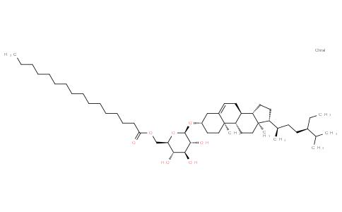 Sitosteryl (6'-O-palmitoyl)-3-β-D-glucopyranoside