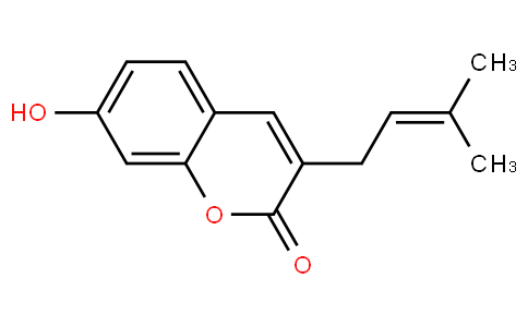 7-Hydroxy-3-prenylcoumarin