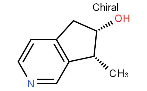 (6S,7R)-6,7-Dihydro-7-methyl-5H-cyclopenta[c]pyridin-6-ol