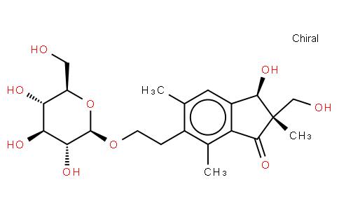 Epipterosin L 2'-O-glucoside