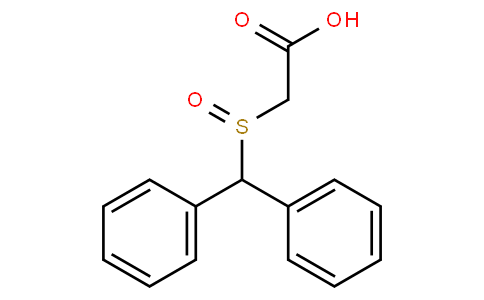 2-Benzhydrylsulphinylacetic acid