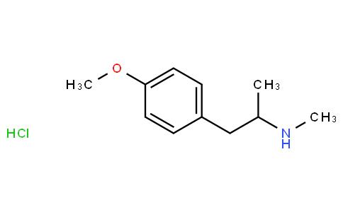 p-methoxy-N,alpha-dimethylphenethylamine hydrochloride