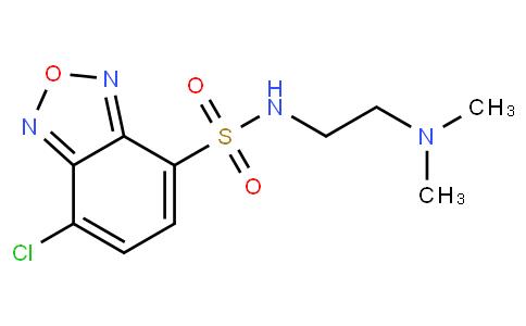 4-[2-(DIMETHYLAMINO)ETHYLAMINOSULFONYL]-7-CHLORO-2,1,3-BENZOXADIAZOLE