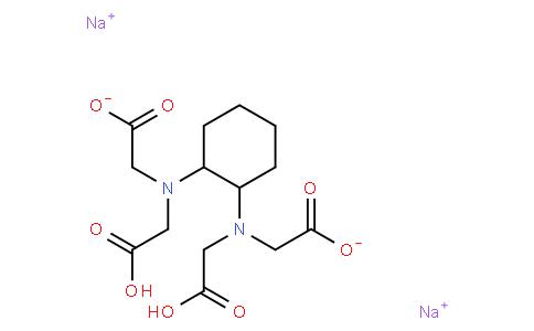disodium dihydrogen N,N'-1,2-cyclohexanediylbis[N-(carboxylatemethyl)glycinate]