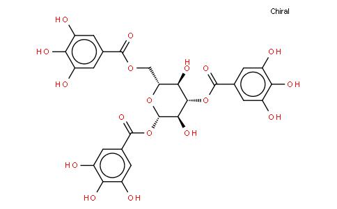 1,3,6-TRI-O-GALLOYL-B-D-GLUCOSE