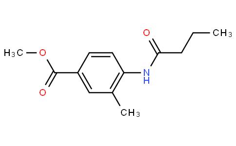 3-Methyl-4-[(1-Oxobutyl)Amino]-Benzoic Acid Methyl Ester