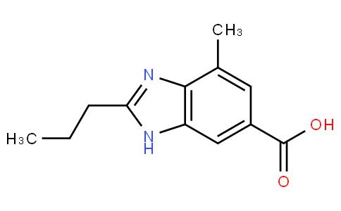 4-Methyl-2-n-propyl-1H-benzimidazole-6-carboxylic acid