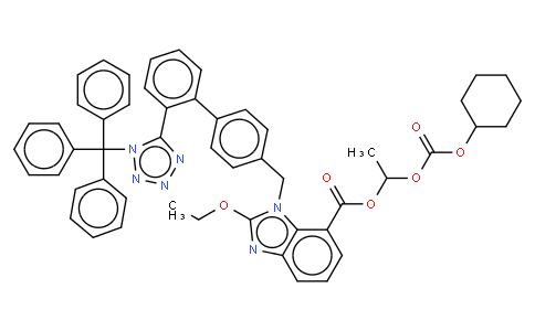 Trityl Candesartan Cilexetil