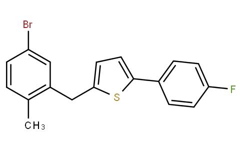 2-(5-BroMo-2-Methylbenzyl)-5-(4-fluorophenyl)thiophene
