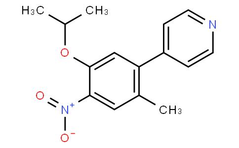 4-(5-isopropoxy-2-Methyl-4-nitrophenyl)pyridine