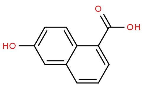 6-hydroxy-1-naphthalenecarboxylic acid