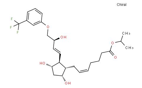 5-Heptenoic acid, 7-[(1S,2S,3S,5R)-3,5-dihydroxy-2-[(1E,3S)-3-hydroxy-4-[3-(trifluoroMethyl)phenoxy]-1-buten-1-yl]cyclopentyl]-, 1-Methylethyl ester, (5Z)-