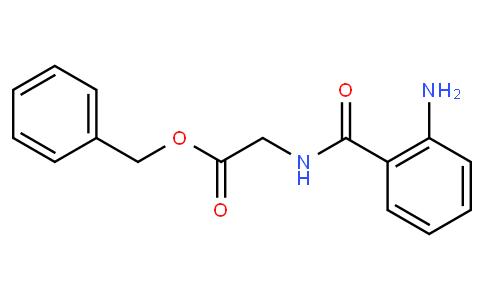 Glycine, N-(2-aminobenzoyl)-, phenylmethyl ester