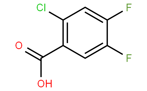 2-Chloro-4,5-difluorobenzoic acid
