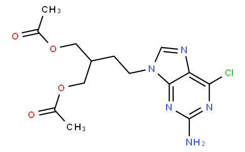 2-(2-(2-Amino-6-chloro-9H-purin-9-yl)ethyl)propane-1,3-diyl diacetate