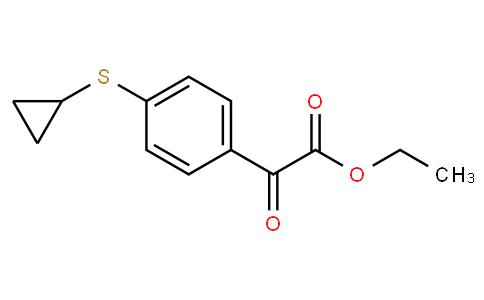 Ethyl 2-[4-(cyclopropylsulfanyl)phenyl]-2-oxoacetate