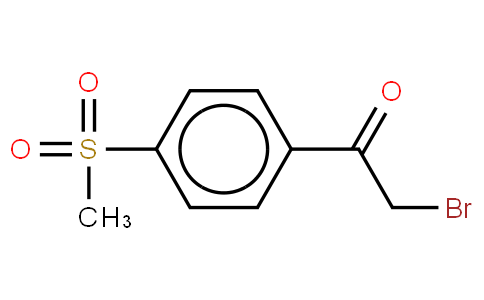 4-Methylsulfonyl-α-bromo acetophenone
