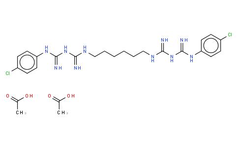 氯已定二醋酸盐