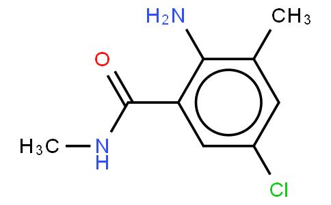 2-Amino-5-chloro-N,3-dimethylhenzamide