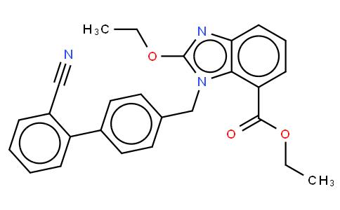 Ethyl-2-Ethoxy-1-[[(2'-Cyanobiphenyl-4-yl) Methyl] Benzimidazole]-7-Carboxylate