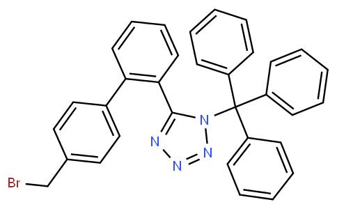 5-(4'-Bromomethyl-1,1'-biphenyl-2-yl)-1-triphenylmethyl-1H-tetrazole