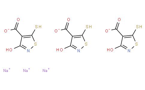 3-Hydroxy-5-mercapto-4-isothiazolecarboxylic acid trisodium salt