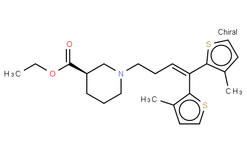 Tiagabine ethyl ester