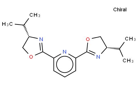 2,6-Bis[(4S)-isopropyl-2-oxazolin-2-yl]pyridine