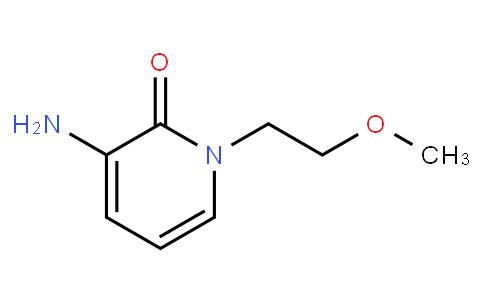3-amino-1-(2-methoxyethyl)pyridin-2(1H)-one