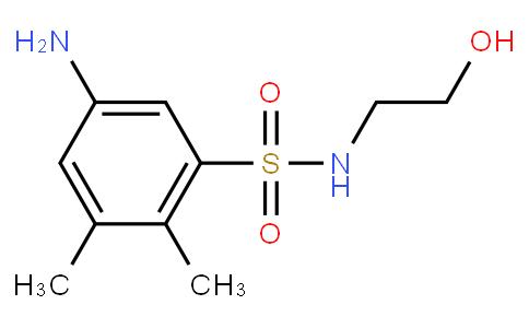 5-Amino-N-(2-hydroxyethyl)-2,3-dimethylbenzenesulfonamide