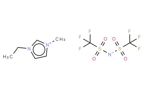 1-ETHYL-3-METHYLIMIDAZOLIUM BIS(TRIFLUOROMETHYLSULFONYL)IMIDE, 99% [EMIIM]
