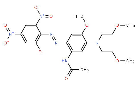 M10145 | N-[5-[bis(2-methoxyethyl)amino]-2-[(2-bromo-4,6-dinitrophenyl)azo]-4-methoxyphenyl]acetamide
