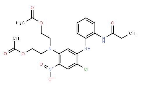 M10150 | 2-[N-(2-acetoxyethyl)-4-chloro-2-nitro-5-[2-(propionamido)anilino]anilino]ethyl acetate